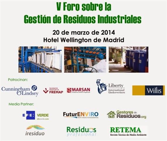 ForoGestionResiduosIndustriales20Marzo2014