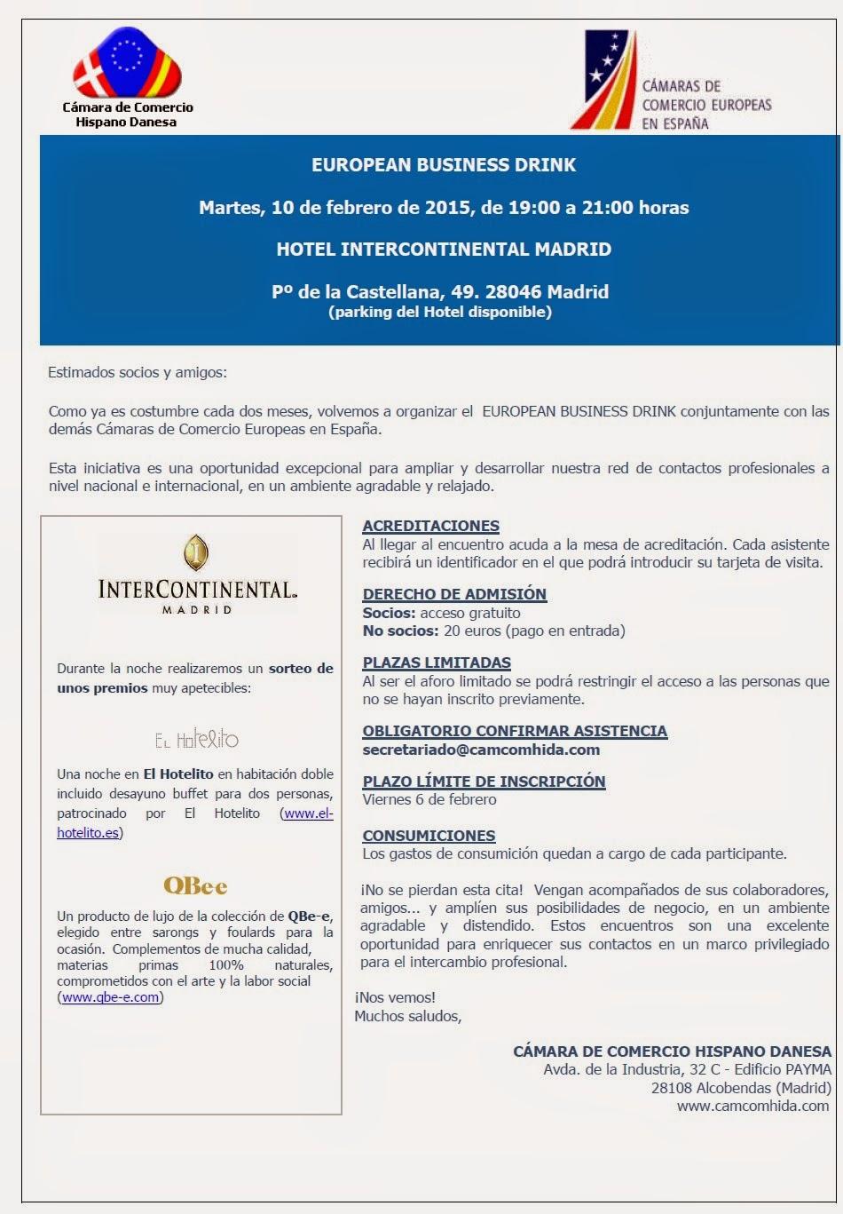 EuropeanBusinessDrinkInvitacion10Febrero2015