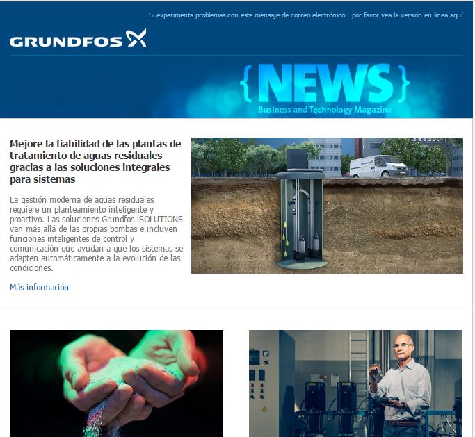 Noticias Grundfos